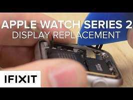 آموزش ویدیویی تعویض صفحه نمایش اپل واچ ۲