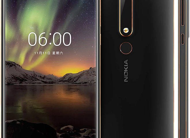 مشخصات فنی و قیمت گوشی نوکیا Nokia 6 2018